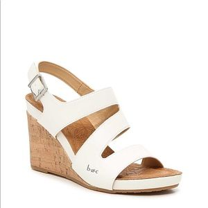 B.O.C. Nara wedge size 8 color white